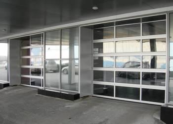 Панорамные секционные ворота